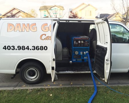 Residential Carpet Cleaning Truck