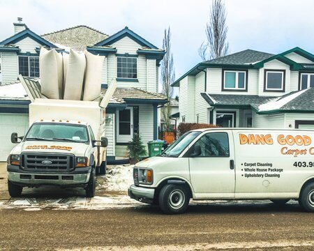 Residential Carpet Cleaning Vehicles