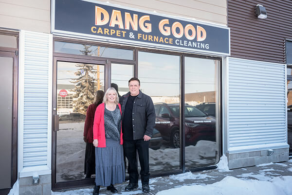 About Us - Karen and Mark of Dang Good Carpet and Furnace Cleaning
