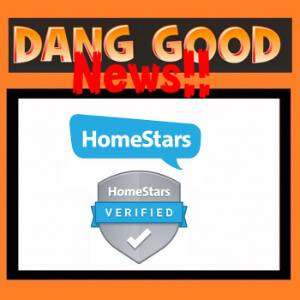 Dang Good is Now Verified on HomeStars