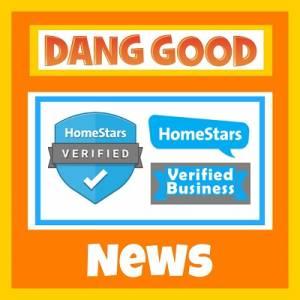 Dang Good is a Verified HomeStars Business