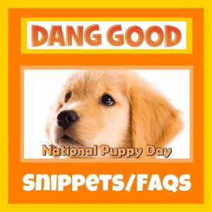 National Puppy Day – March 23rd