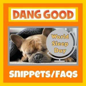 Celebrating World Sleep Day
