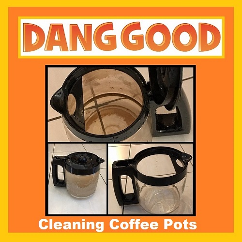 A Dirty Coffee Pot Cleaning Hack
