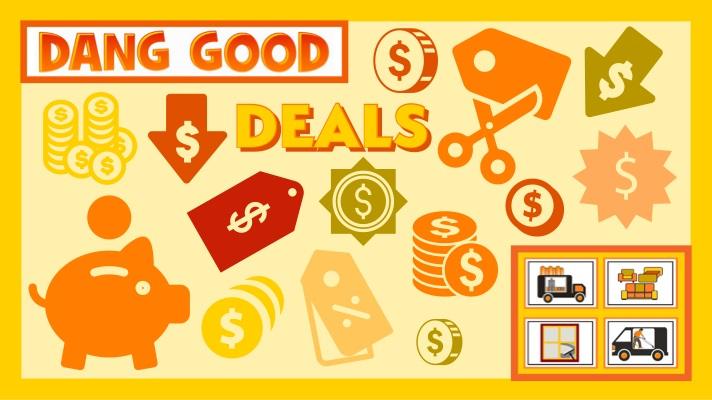 Dang Good Deals Page