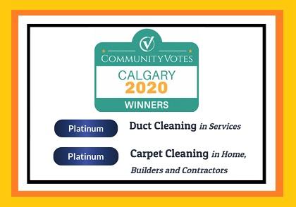 Platinum Winner for Calgary Community Votes