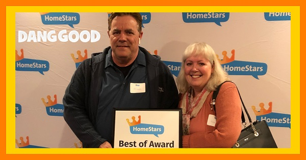 At the HomeStars Best of Award Event